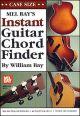 Mel Bay Instant Guitar Chord Finder: Case Size