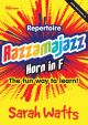 Razzamajazz Repertoire Horn In F: Book & CD (watts)